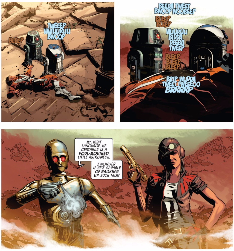 Thank God Marvel Remembered to Make Their Star Wars Comics Funny