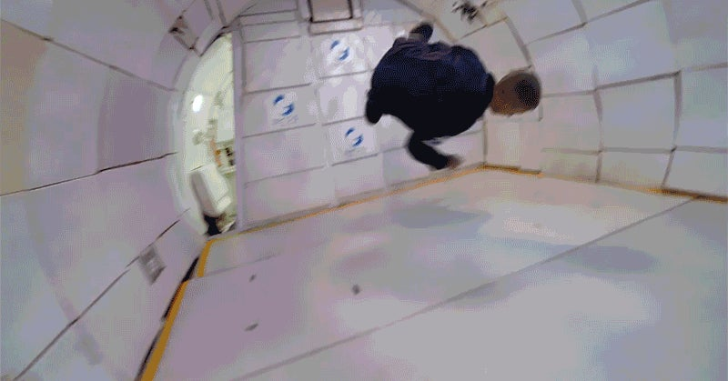 Skateboarding in Zero Gravity Is Tony Hawk's Best Trick Yet