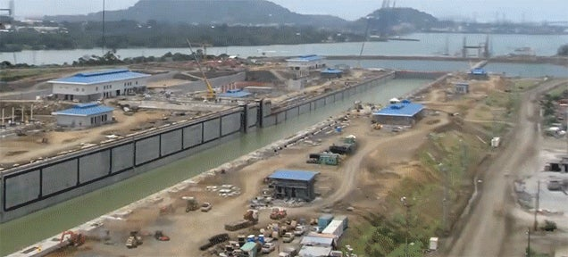 Watch the Construction of the Panama Canal Expansion in This Timelapse