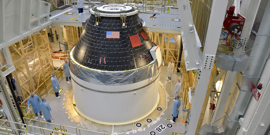 NASA's Next-Generation Orion Space Capsule Is Ready for Riders