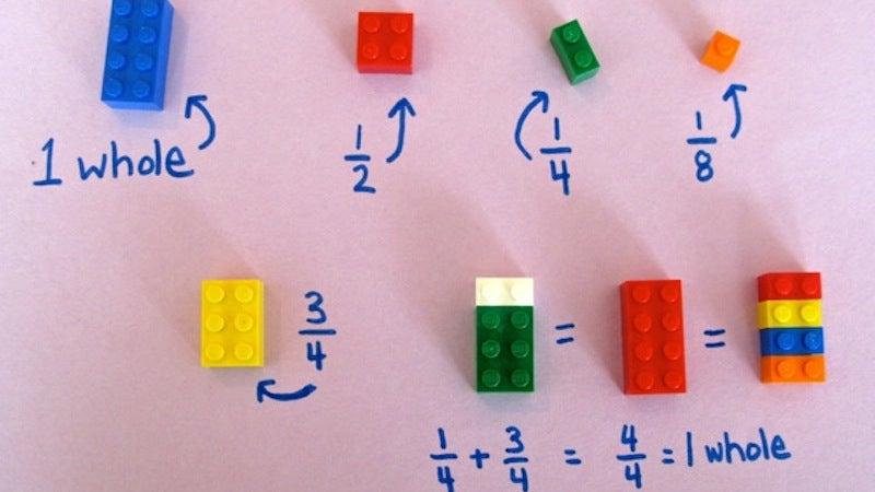 Use LEGO Bricks to Teach Basic Maths Concepts
