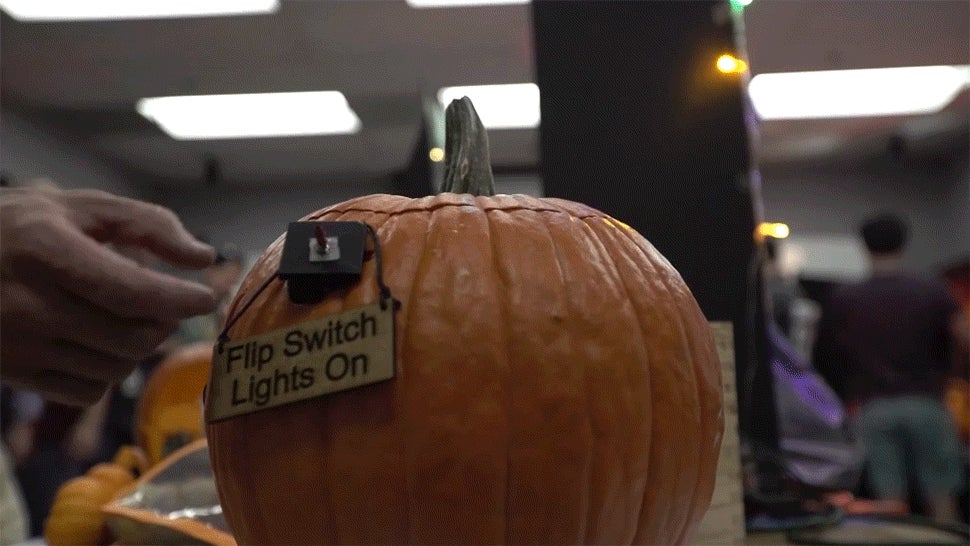 NASA Absolutely Killed the Halloween Pumpkin Carving Competition