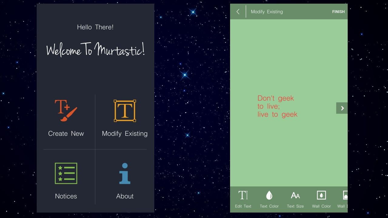 Murtastic Creates or Modifies Live Wallpapers for Android