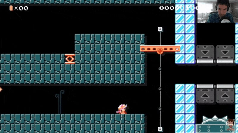 Mario Maker Stage Forces Players To Beat It Without Jumping