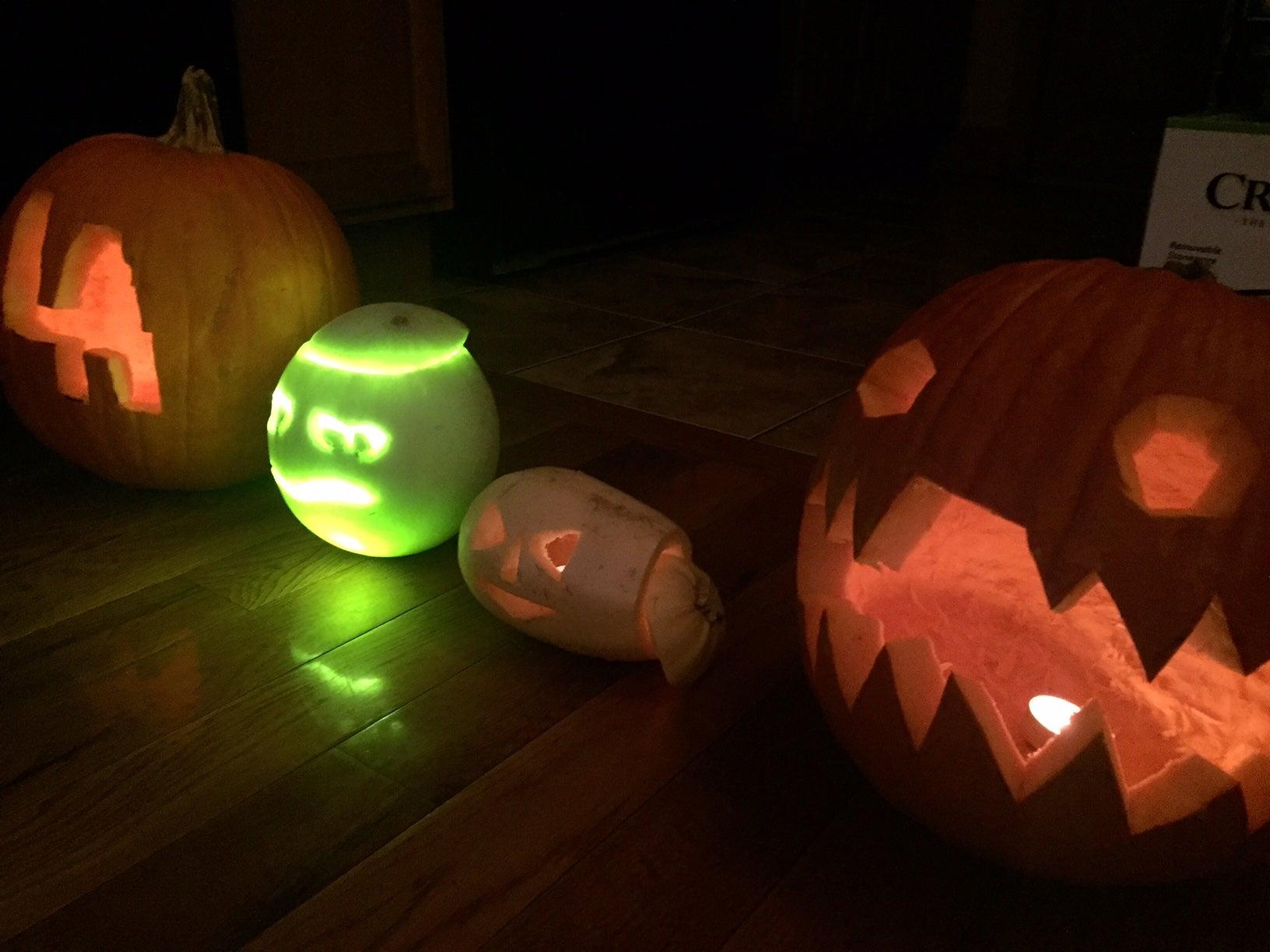 Carve A Honeydew Jack-O-Lantern This Halloween