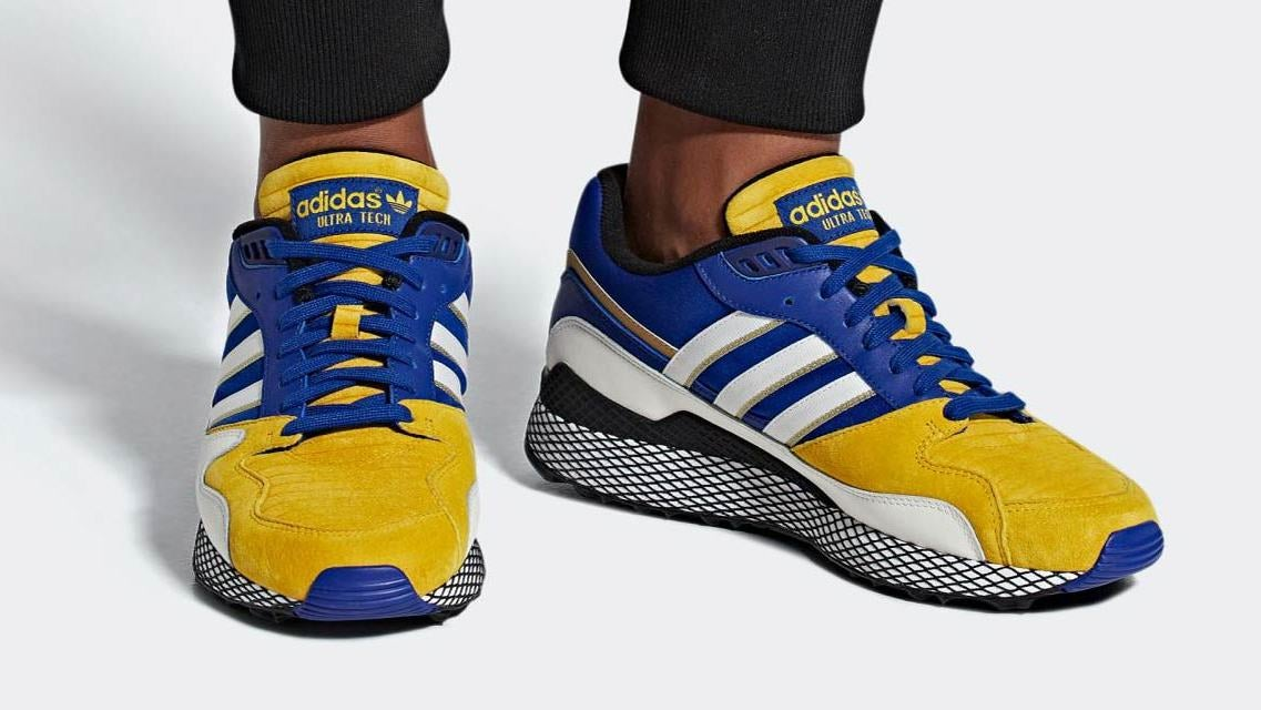 5b7d4f690e8 Adidas  Latest Dragon Ball Sneakers Are Over 9000