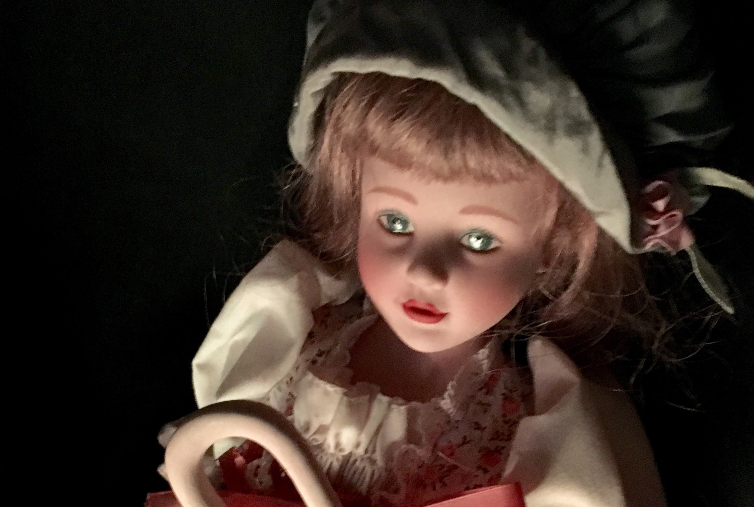 Gaze In Terror Or Boredom At This Livestream Of A 'Haunted' Doll Sitting In An Office