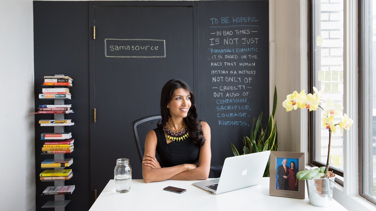 I'm Leila Janah, Social Entrepreneur, and This Is How I Work