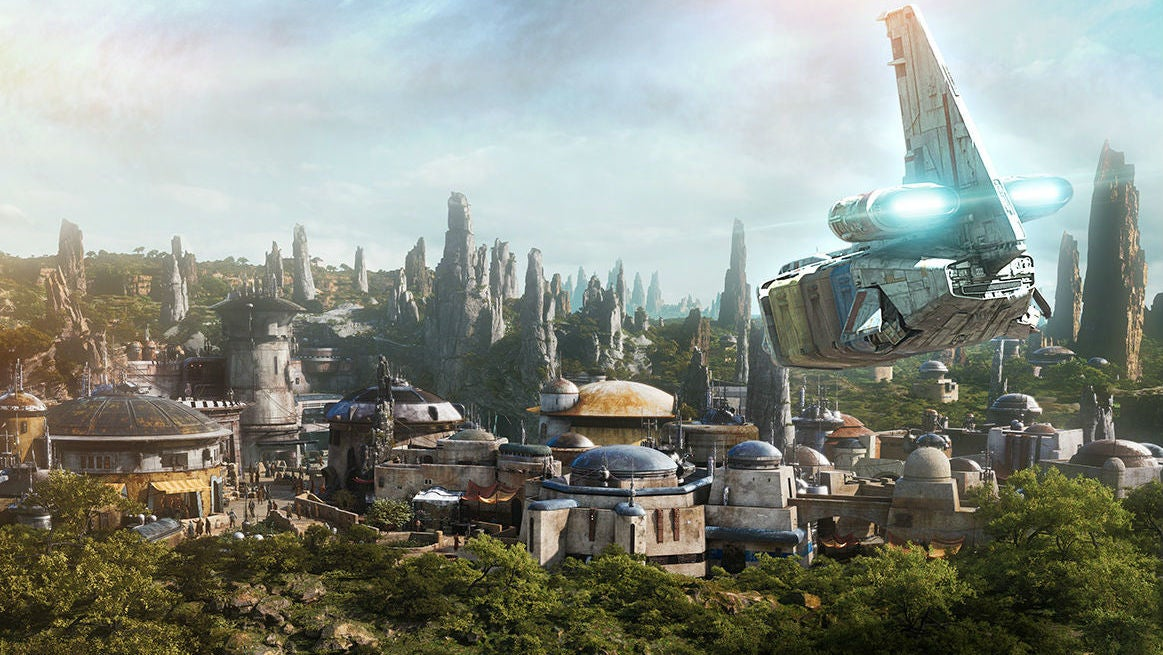 Disney's Star Wars Lands Are Set On The New Planet Of Batuu