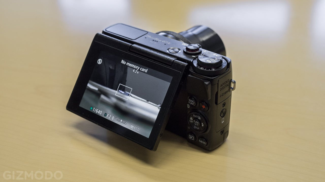 Canon G7 X: Canon Catches Up With a Tiny 1-Inch Sensor Point-and-Shoot