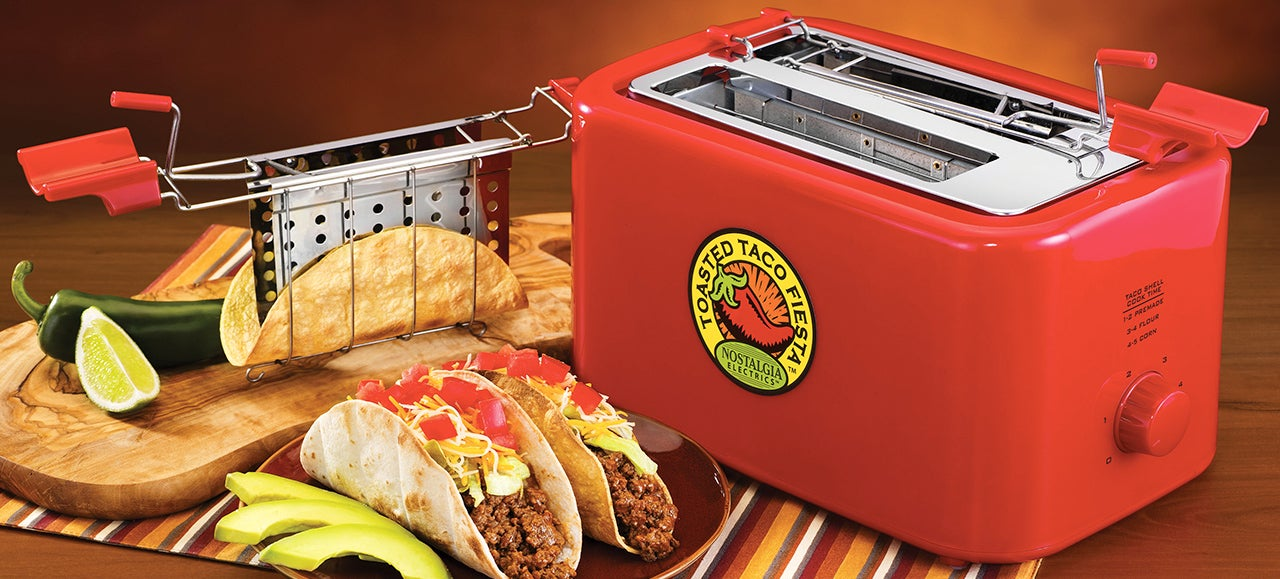 This Toaster Turns Tortillas Into Tasty Taco Shells
