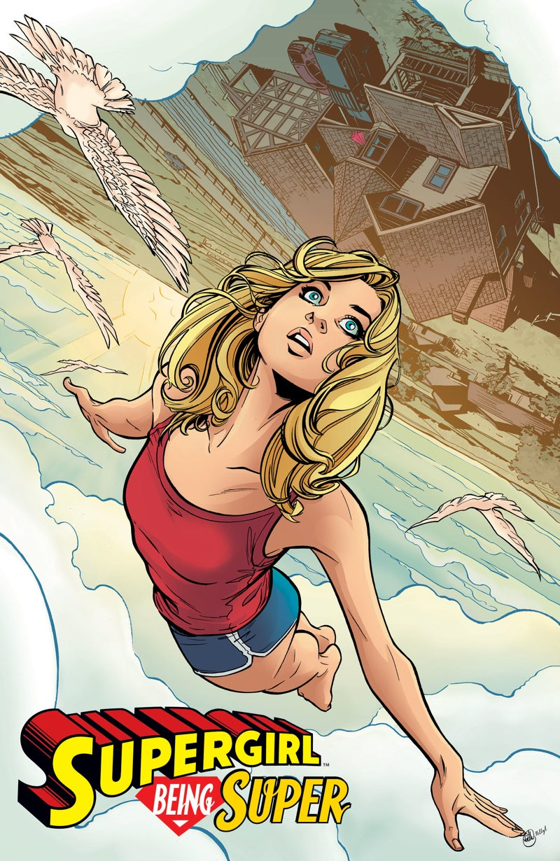 Supergirl's Got a Lot Going on Right Now