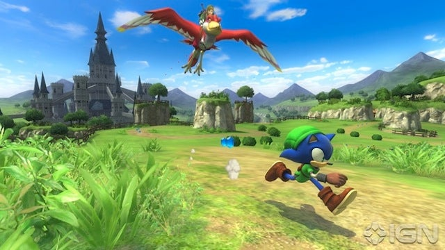 I Can't Stop Laughing At Sega's Sonic-Zelda Crossover