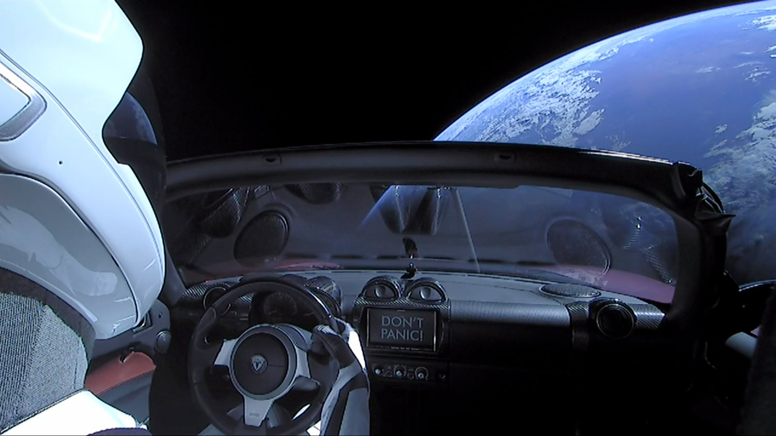 There's Only The Tiniest Chance That Musk's Tesla Will Crash Back To Earth, But We'll Take It