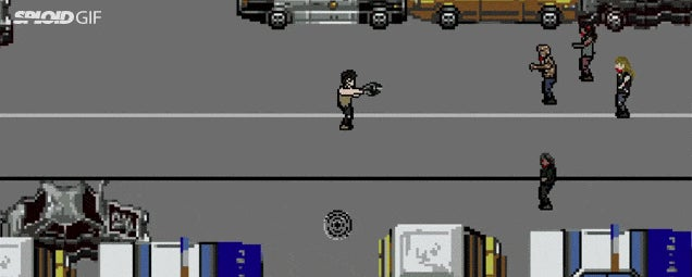 8-Bit Video Game Version Of The Walking Dead Is Still Gory As Hell