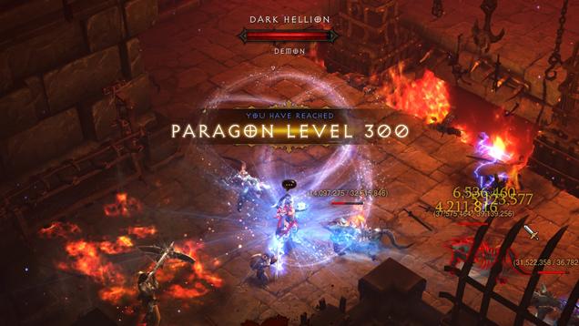 Paragon Level 300