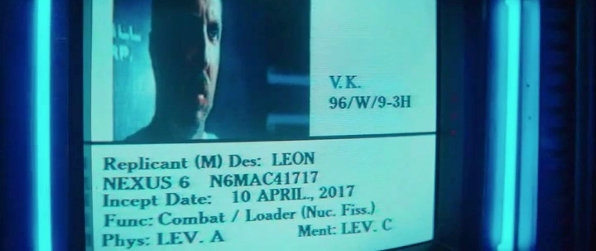 Happy Inception Date To Blade Runner Replicant Leon Kowalski