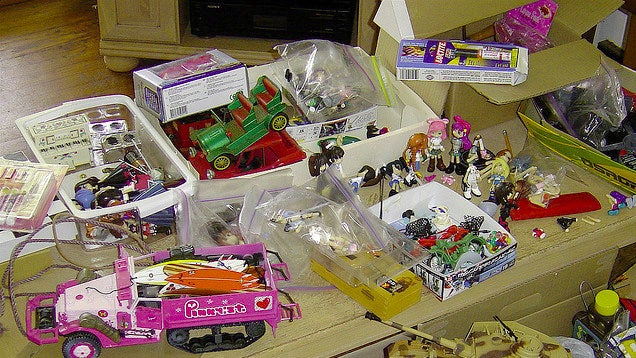 Schedule a Toy Purge Before Holidays and Birthdays