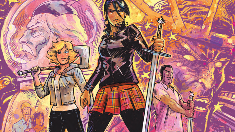 In Once And Future Queen, Arthurian Legend Gets A Modern Twist – And You Can Read The First Issue Here For Free