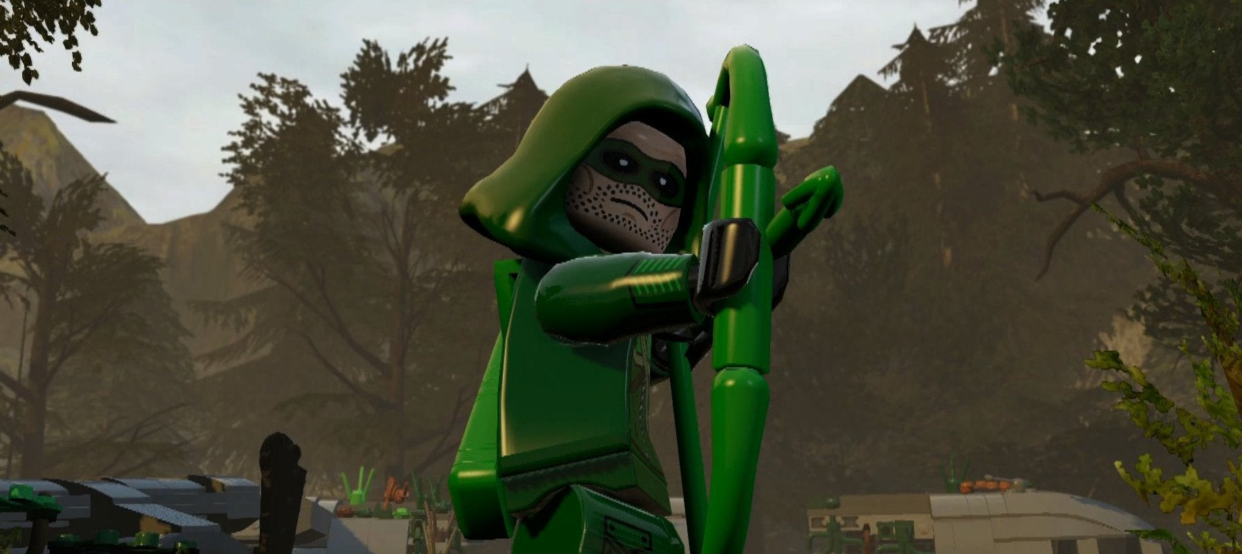 Green Arrow Isn't Quite as Grim in Lego Batman 3's New DLC