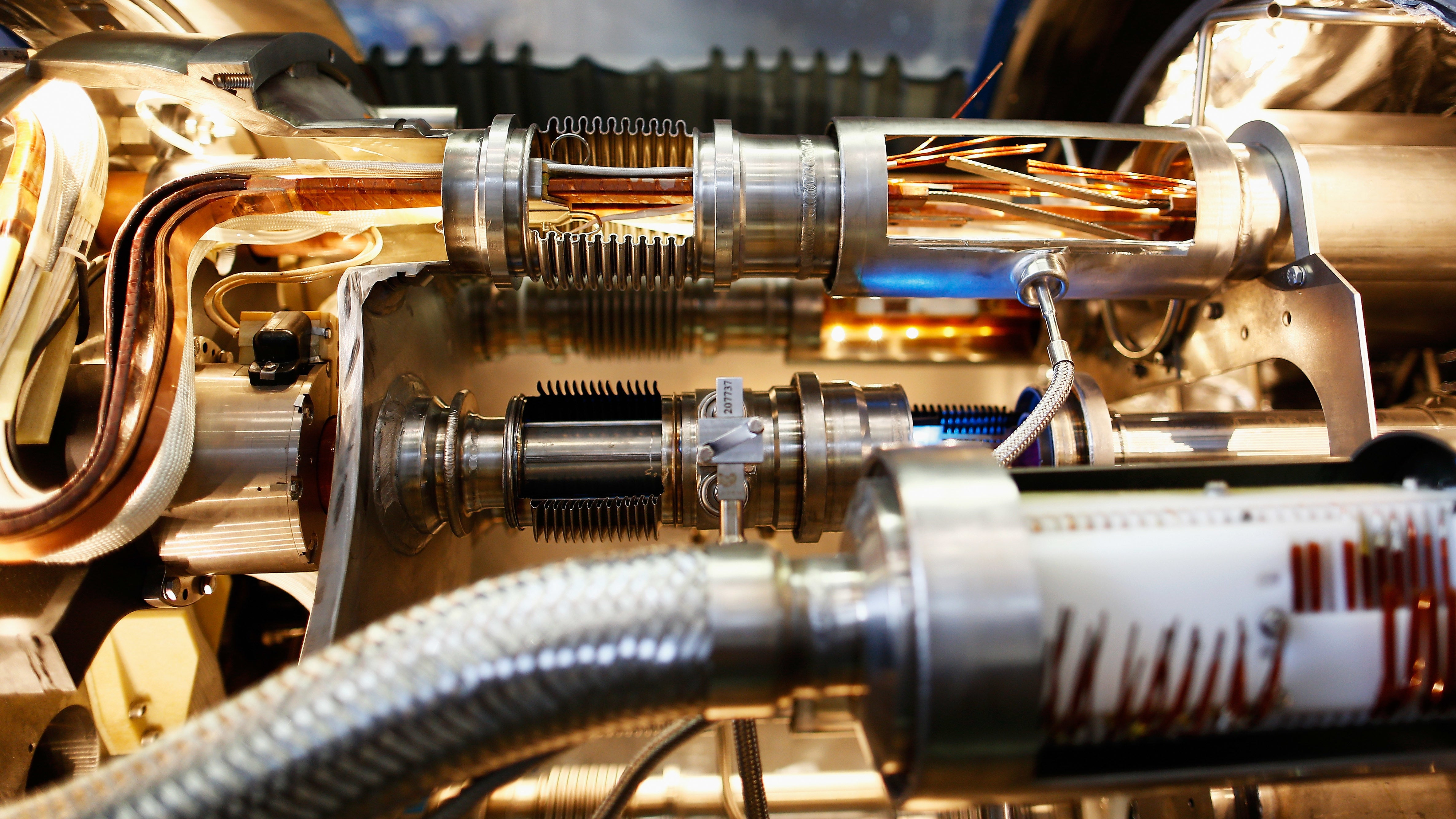 What Does A Particle Collider Sound Like?