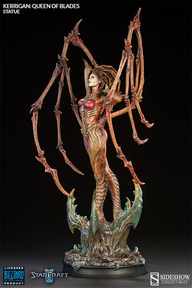 StarCraft's Queen Of Blades Shrunk, Turned Into Statue