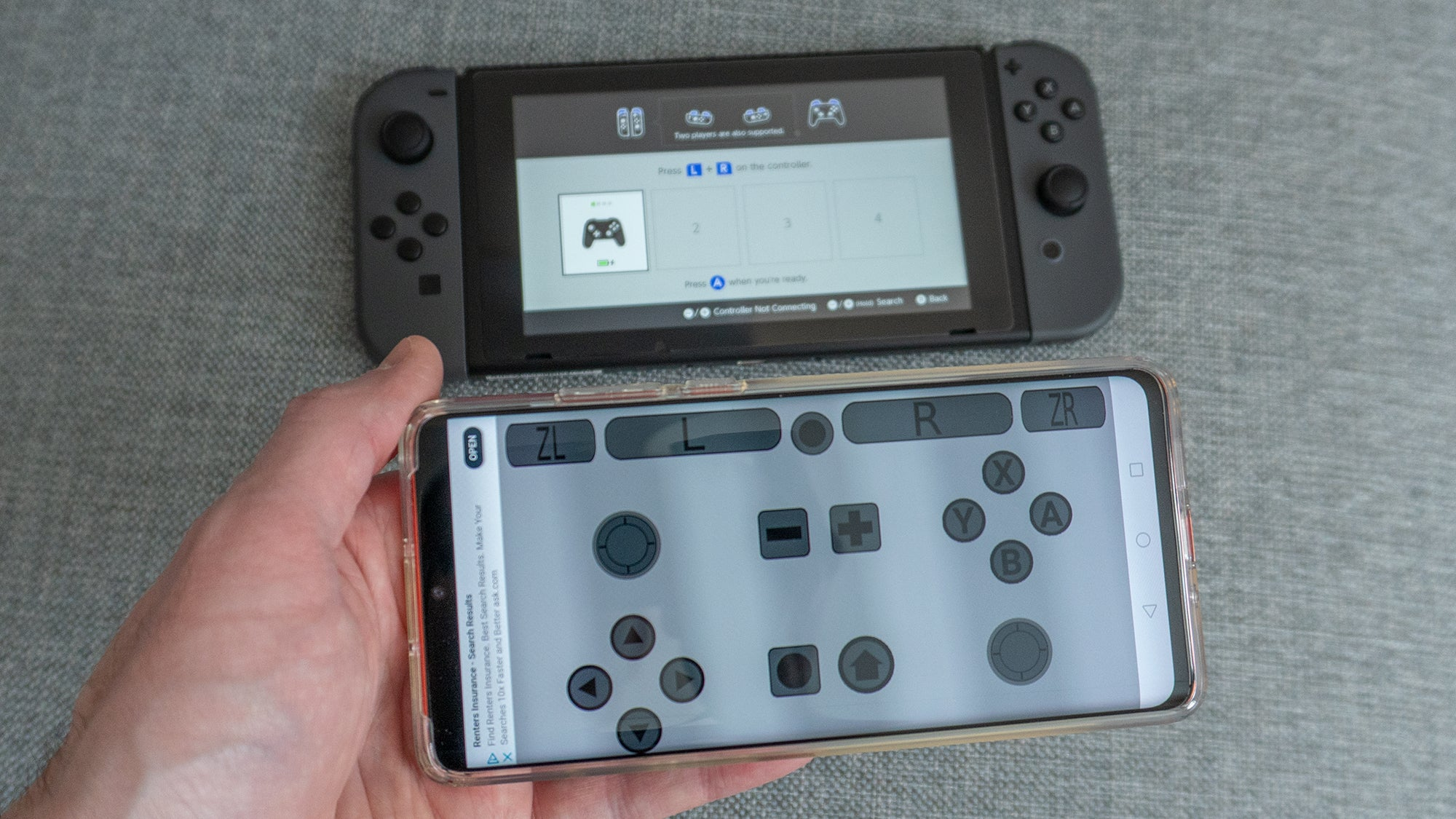 This App Promises To Turn Android Phones Into Extra Nintendo Switch Controllers