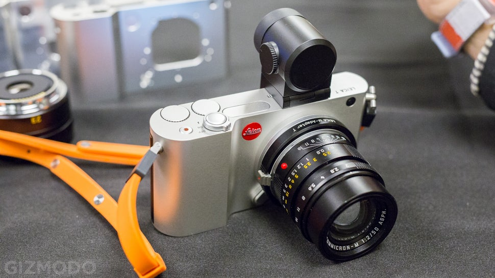 Leica T: A Compact Camera That's Engineered Like a Sportscar