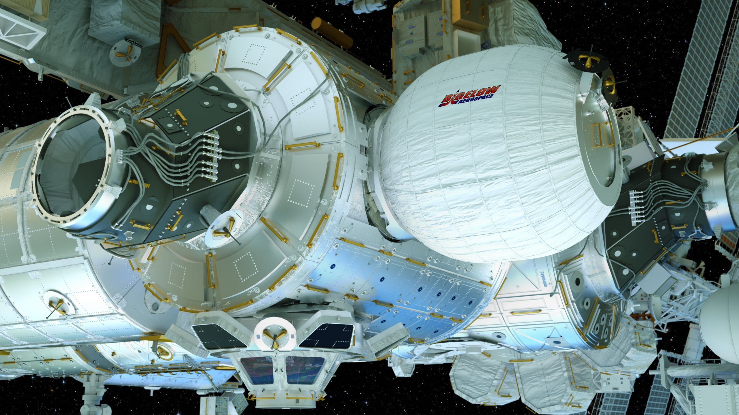 NASA inflating new experimental room at space station