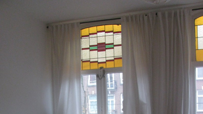 Use A Template To Hang Curtains Perfectly On Every Window