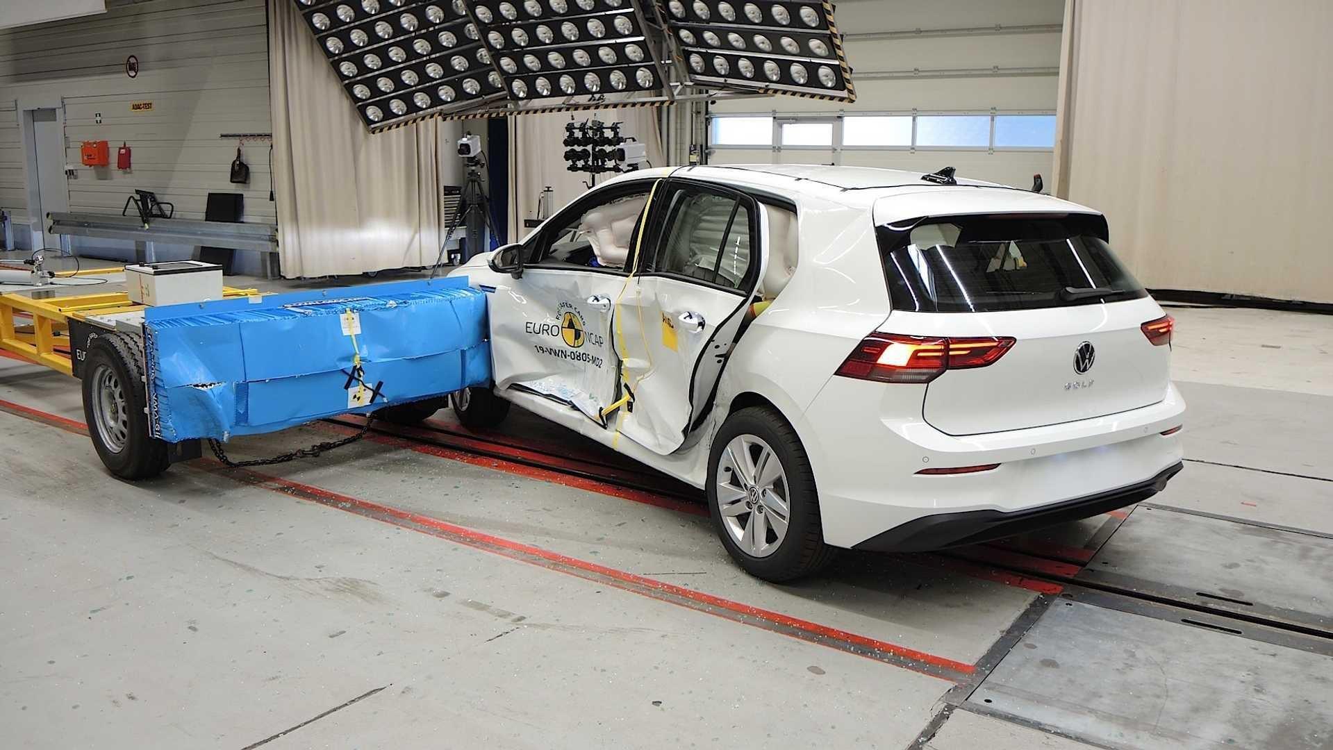 Crash Test Finds 2020 Volkswagen Golf Surprisingly Good At Busting Back Doors Open In A Crash