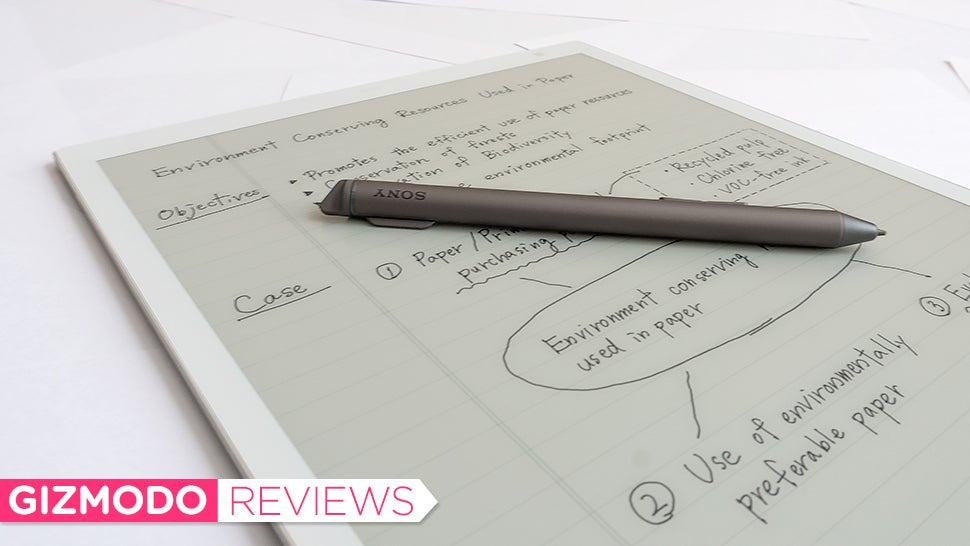 Sony's Beautiful E-Ink Tablet Made Me Feel Great Joy, Disappointing Frustration