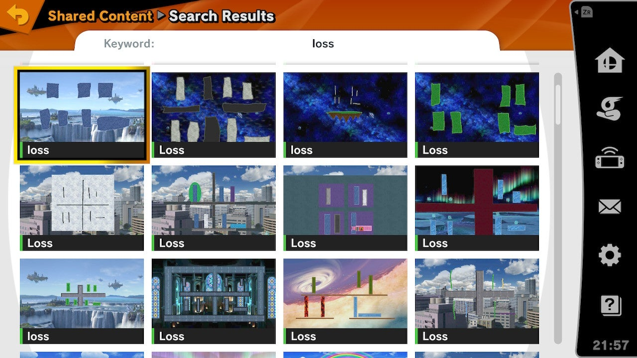 The Coolest And Silliest Super Smash Bros. Ultimate Stage Builder Creations So Far