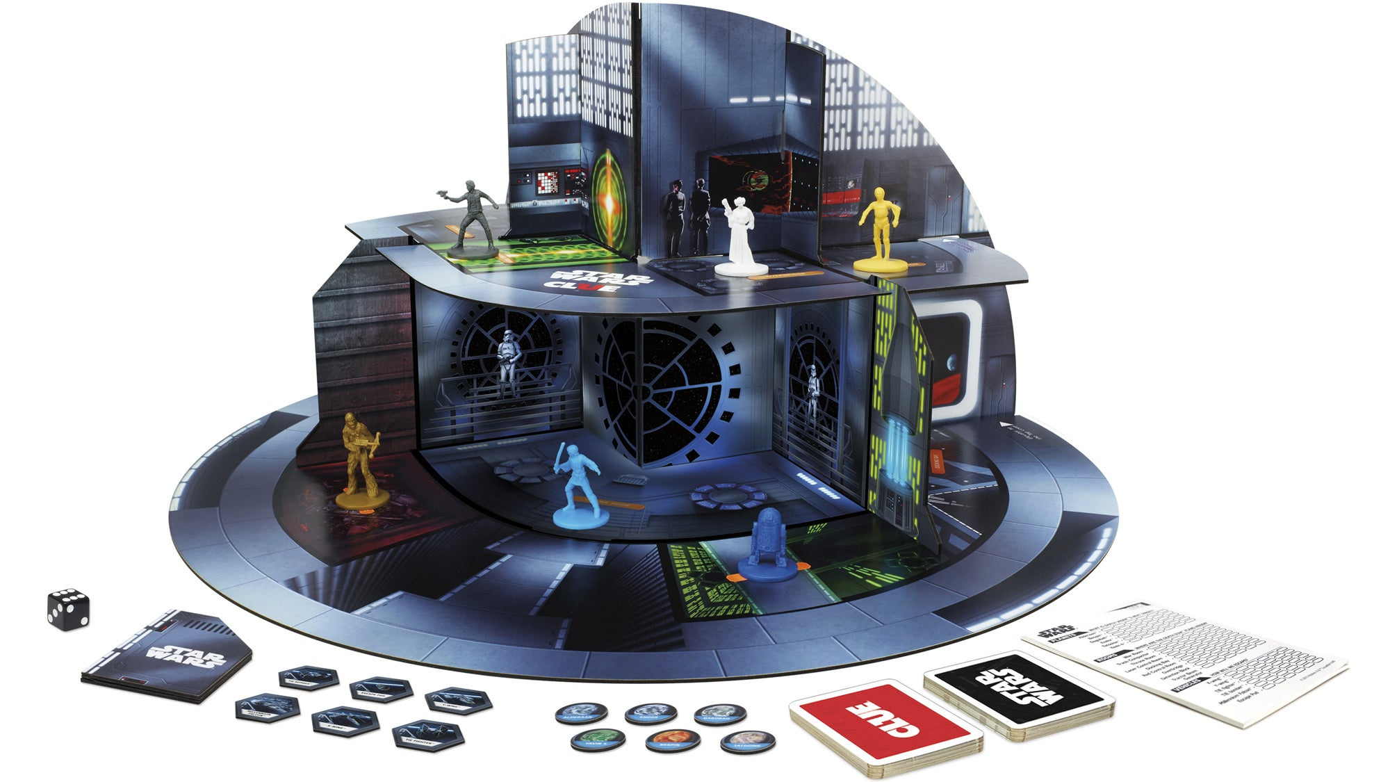 Clue: Star Wars Edition Has You Figuring Out How To Safely Escape A 3D Death Star