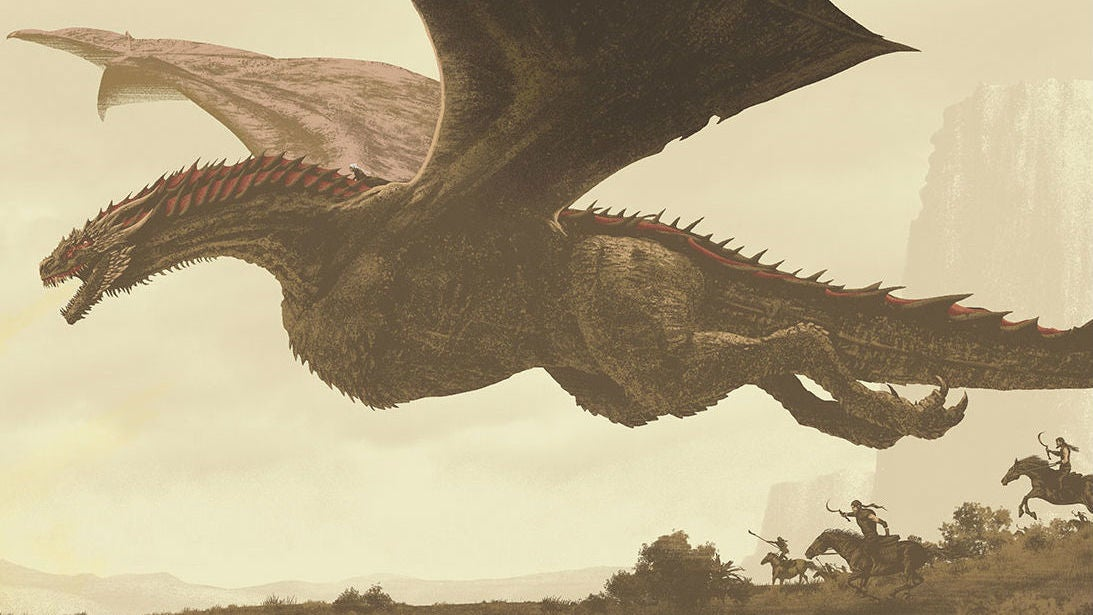 The Best Scene Of Game Of Thrones Season Seven Comes To Life In This Insane Poster