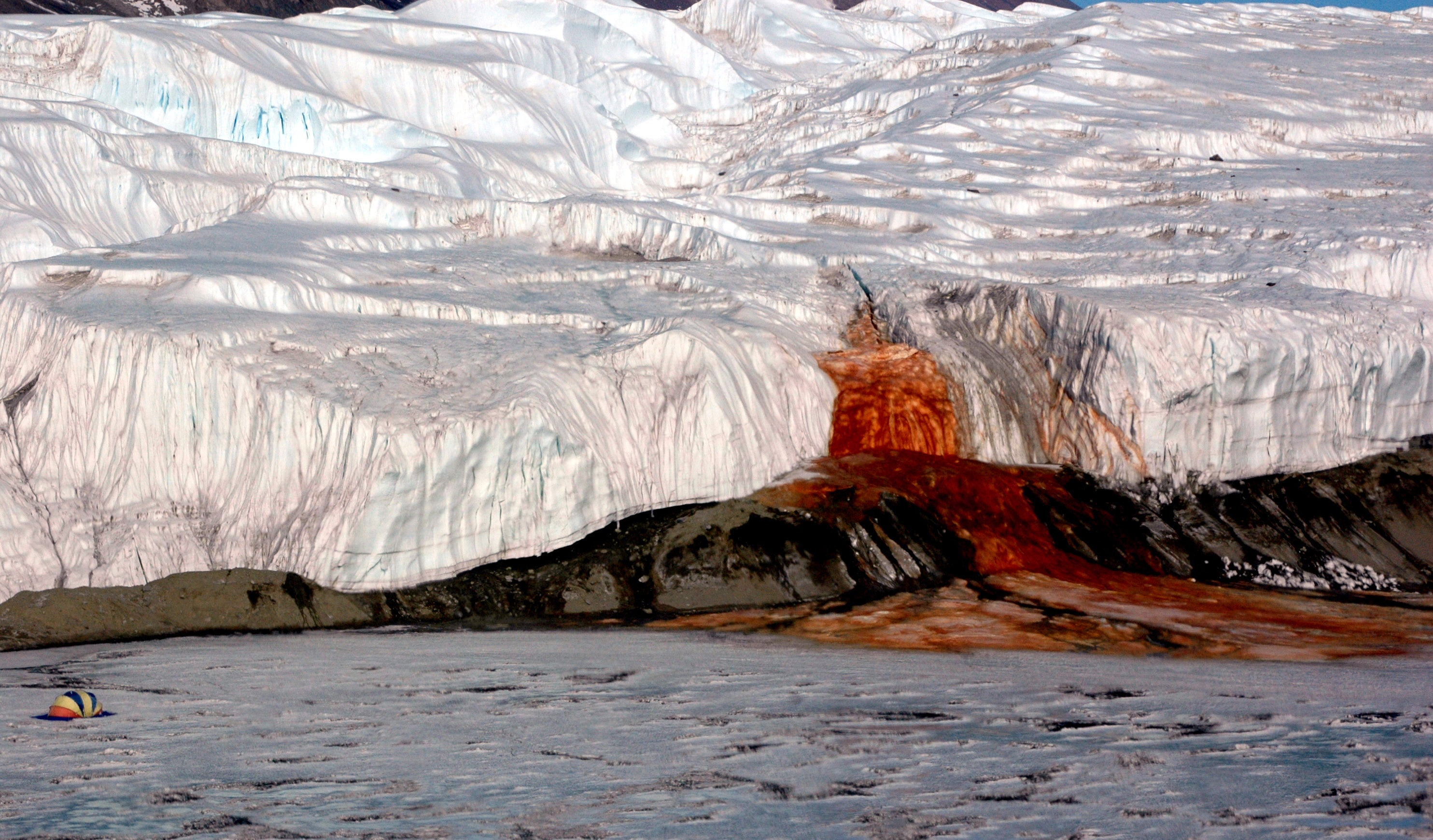 The Ancient Secrets of a 'Bleeding' Glacier Are Finally Being Revealed