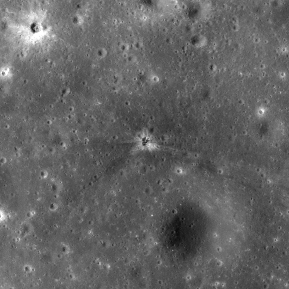 The Impact Of Apollo 16's Third Stage Booster Has Been Found On The Moon