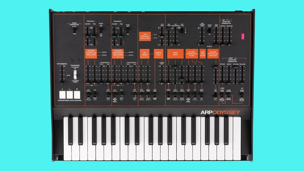 Korg's Rebooted Arp Odyssey Is Here, Ready For an Army of Synth Nerds