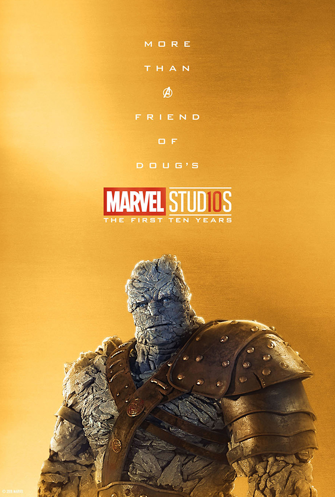 Marvel Studios Is Celebrating Its Tenth Anniversary With