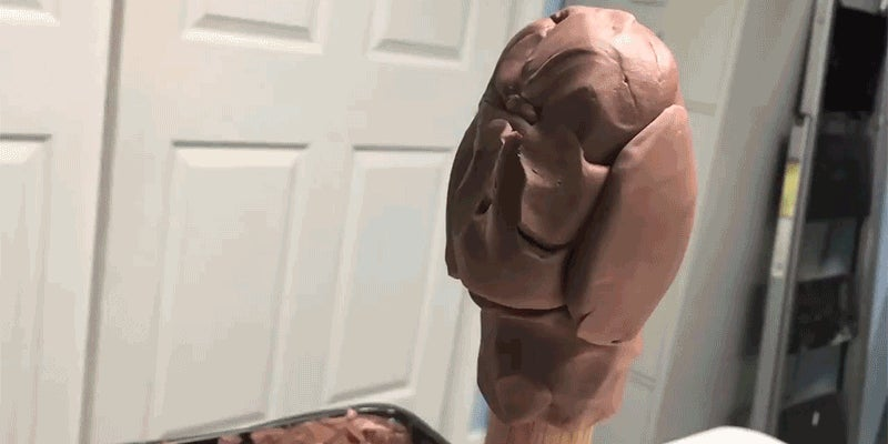 It's Totally Magical Watching This Sculptor Turn A Lump Of Clay Into The Hulk