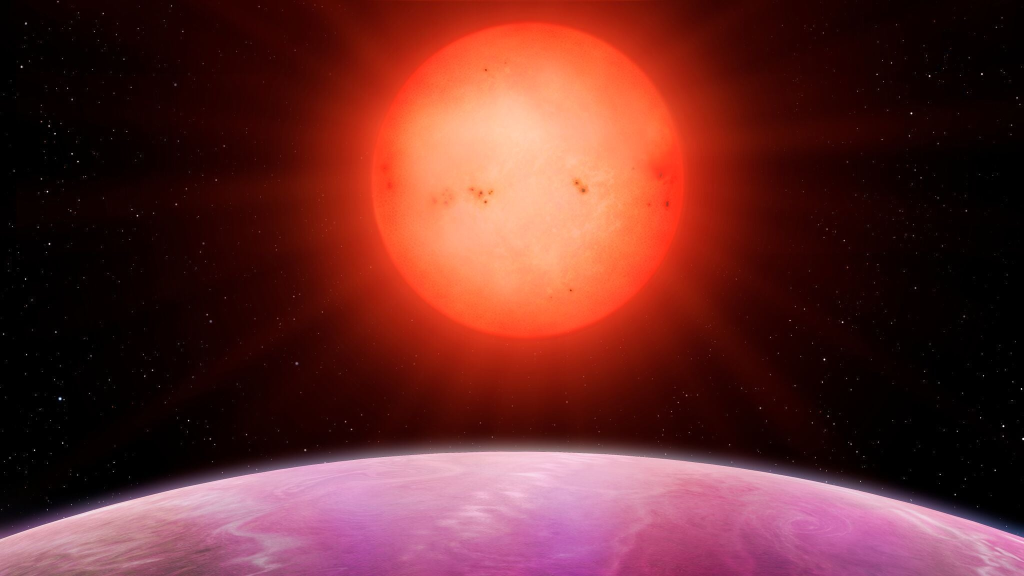 This Tiny Star Hosts A Planet Nearly The Size Of Jupiter
