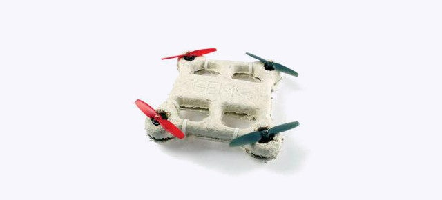 Drones Made Out of Mushrooms Will Decompose When They Crash-Land