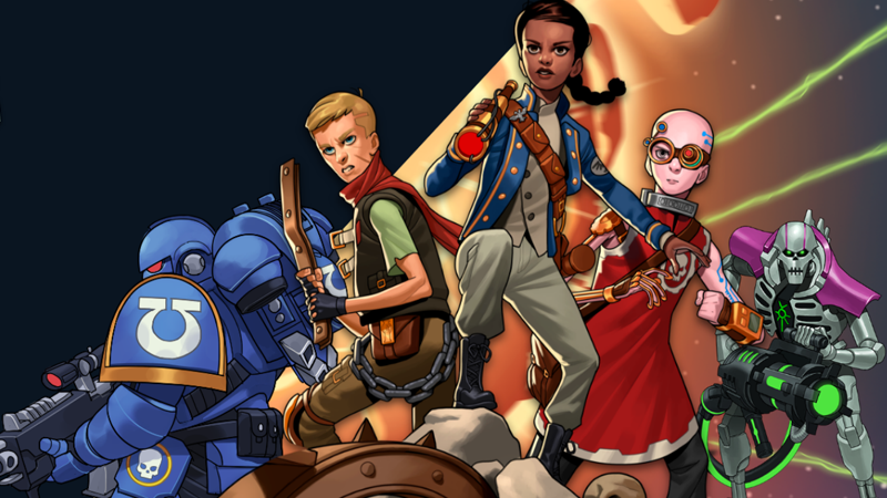 These WarhammerKids' Books Are Both Heretically Weird And Kind Of Awesome