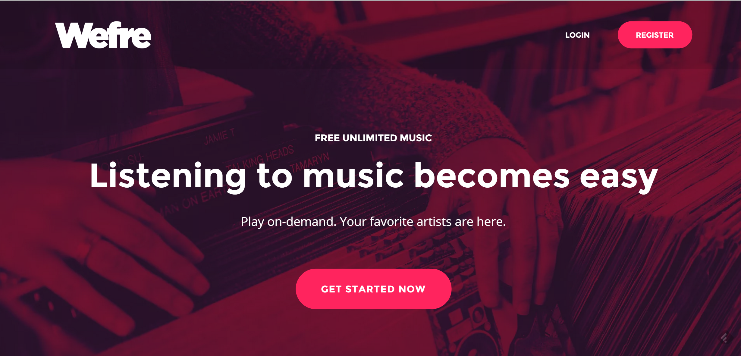 Wefre Lets You Stream Free Music Online With No Ads