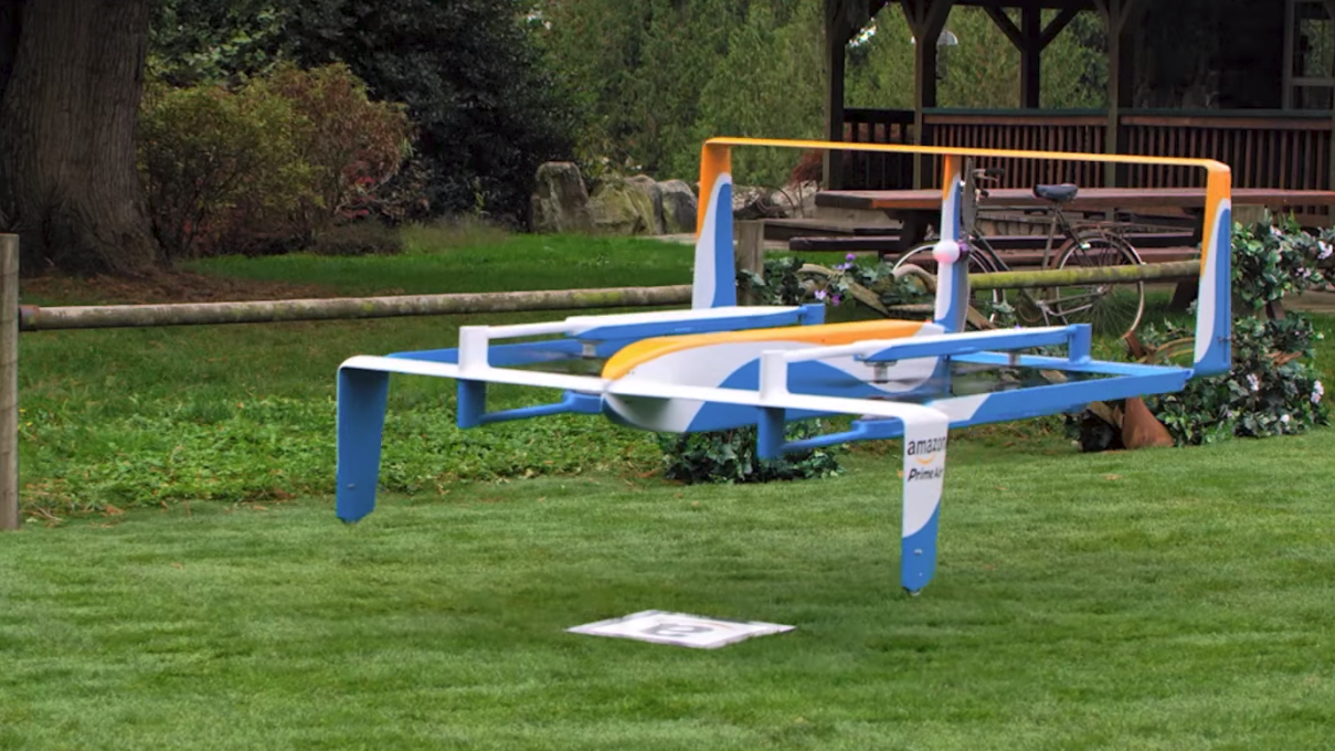 Amazon Wants To Protect People From Falling Drones By Making Them Self-Destruct