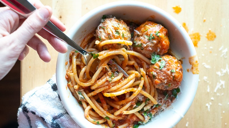 How To Make Spaghetti And Meatballs In Your Instant Pot