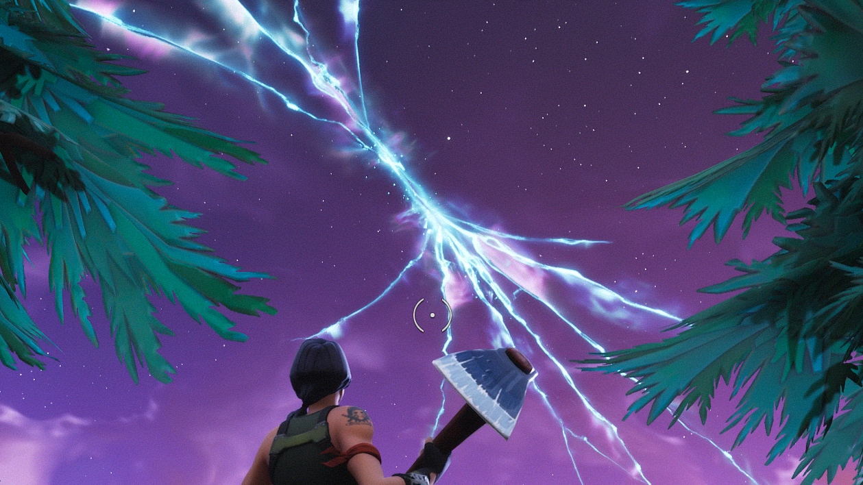 Fortnite Rocket Launches, Cracks The Sky