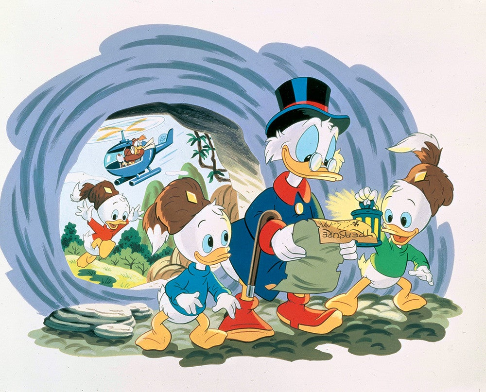There's a New Ducktales Cartoon Coming in 2017