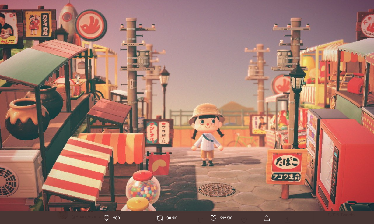 Retro Japan Recreated In Animal Crossing: New Horizons