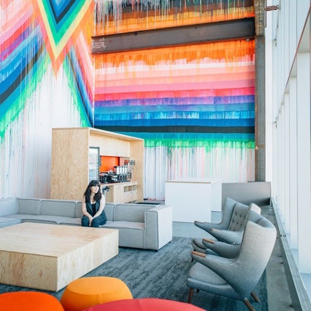 Facebook Is Using Famous Instagrammers To Show Off Its New Office